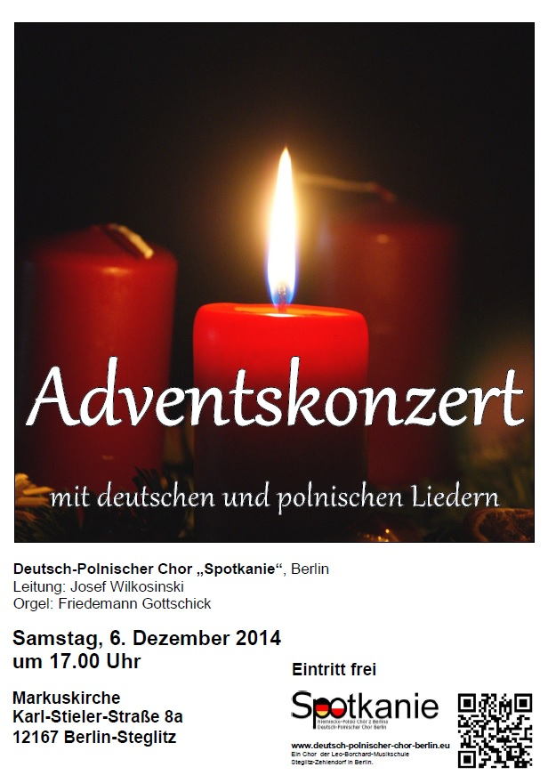 Plakat Advent 2014